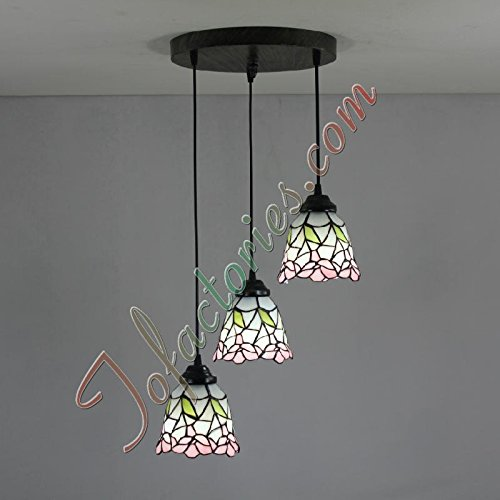 ETERN Pink Fresh And Simple Creative Restaurant Handmade Chandeliers Pendant Light - 3 Lights