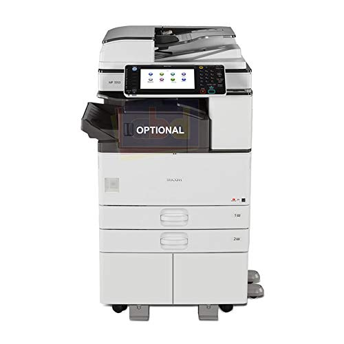 (Refurbished Ricoh Aficio MP 3053 Monochrome Multifunction Copier - 30ppm, A3, Copy, Print, Scan, Duplex, 2 Trays and Stand)
