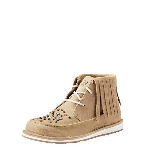 Ariat Women's Cruiser Slip-on Shoe, Cappuccino, 9 B US