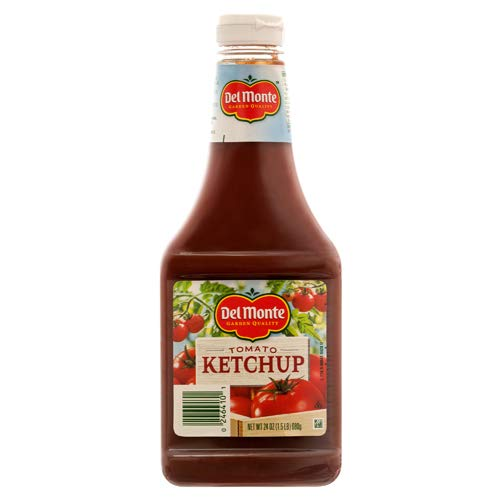 Del Monte New 314132 Ketchup 24 Oz (12-Pack) Ketchup & Mustard Wholesale Bulk Seasonal Ketchup & Mustard Flexible