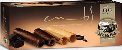 Birba - Barquillos Bañados En Chocolate Fondant, 90 g: Amazon.es: Alimentación y bebidas