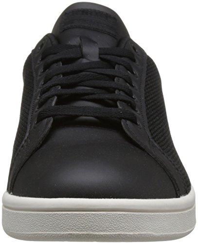 White Core Black Core Advantage adidas Chalk Black Clean Cloudfoam Black Chalk Noir Homme Baskets White Core Black Core Pq7U1w