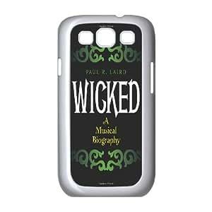 custom samsung galaxy s3 i9300 Case, Musical Wicked phone case for samsung galaxy s3 i9300 at Jipic (style 7)