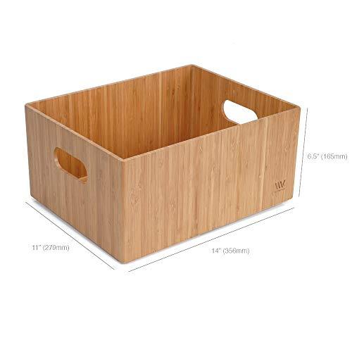 - MobileVision Bamboo Storage Box, 14