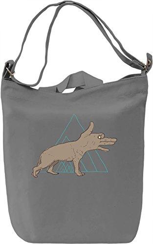 shadow wolf Borsa Giornaliera Canvas Canvas Day Bag| 100% Premium Cotton Canvas| DTG Printing|