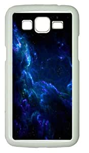 Samsung Grand 7106 Case, Samsung Grand 7106 Cases -Blue clouds outer space PC Hard Plastic Case for Samsung Grand 2/7106 Whtie