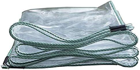 透明防水シート 防水 多目的 ターポリン 95%透明 ヘビーデューティ 折りやすい キャンプ釣り用ハイキング 温室 耐紫外線カバーシェルター 420g / m 2 ターポリン 庭屋根 保護