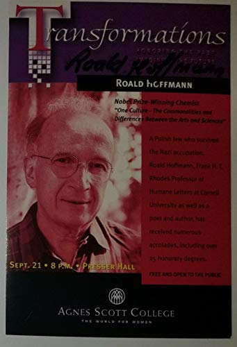 """"""" Nobel Prize In Chemistry"""" Roald Hoffmann Hand Signed 4x6 Card Todd Mueller COA from Unknown"""