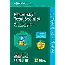 Kaspersky Total Security 2018 | 5 Device | 1 Year [Key Code]