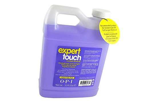 Expert Touch - Axxium soak off, Gel Lacquer REMOVER 4 Quart