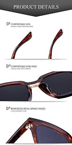 4796ed5ab3 Menton Ezil Fashion Womens Erika Polarized Sunglasses Metal Frame Vintage  Round Style UV400 Shade Retro Sun