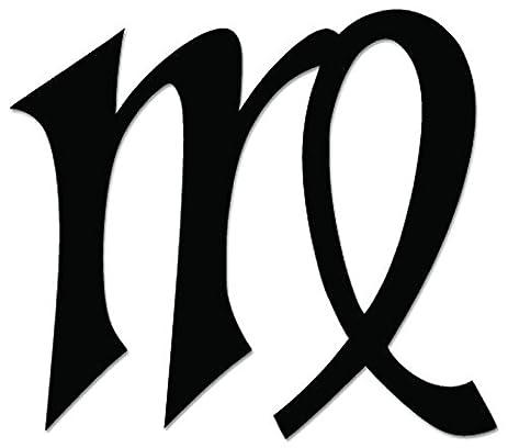 Amazon Virgo Sign Symbol Horoscope Vinyl Decal Sticker For
