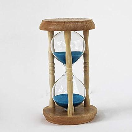 Hourglass Timer - Home Decor 5 Mins Wooden Sand Clock Sandglass Hourglass Timer Gift Ampulheta Reloj