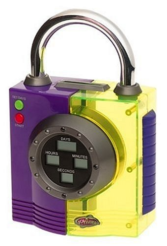 amazon com summit by white mountain youniverse time lock safe toys