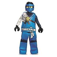 Disguise Costumes Jay Prestige Ninjago Lego Costume, Medium/7-8