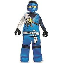 Jay Prestige Ninjago Lego Costume, Small/4-6