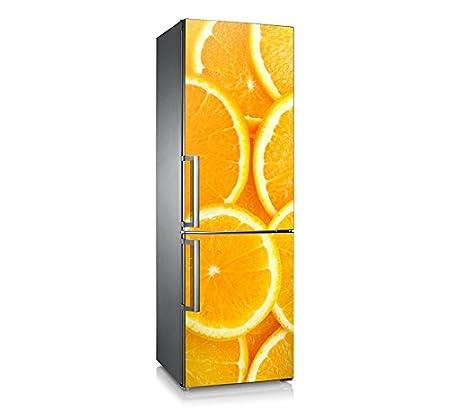 Vinilo para nevera | Stickers Fridge | Pegatina Frigo | Orange 2 ...