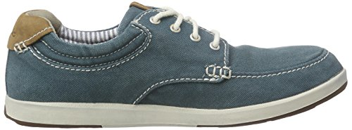 Basses Clarks Sneakers Norwin Homme Vibe Teal Vert Cxt7xqwR