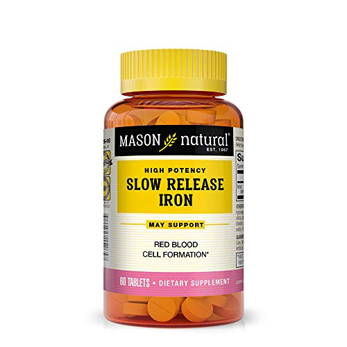 (Mason Vitamins Slow Release Iron, 60 Tablets (Pack of 3))