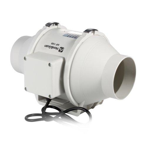 Hg Power 3 Inch Inline Duct Fan Booster Fan Plastic