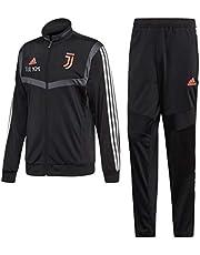 MAESTRI DEL CALCIO Tuta Allenamento Nera Bambino F.C. Juventus Juve 2019/2020 (Vestibilita' Slim) Personalizzata Personalizzabile