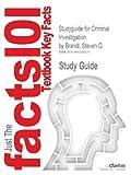 Studyguide for Criminal Investigation by Brandl, Steven G., Cram101 Textbook Reviews, 1490200231