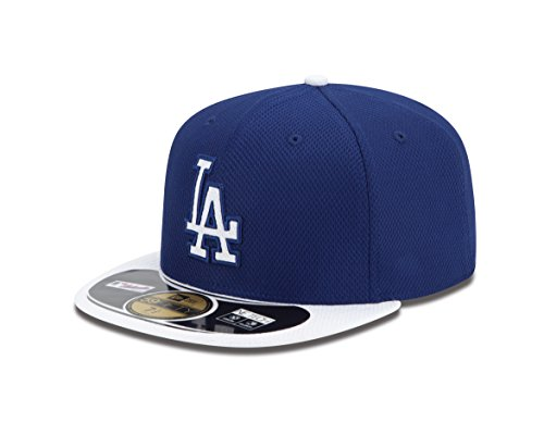 MLB Los Angeles Dodgers Youth Authentic Diamond Era 59FIFTY Fitted Cap, 6 5/8, Royal