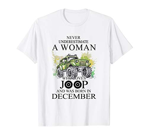 Who Loves Joop And Was Born In December T Shirt