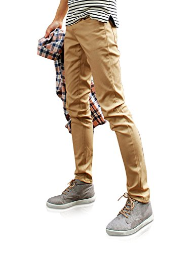 (Demon&Hunter 910X Slim-Fit Series Men's Stretch Casual Pants DH9103(29))