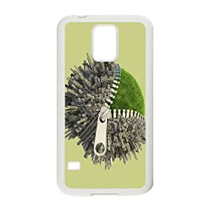 DIY Magical Zipper Theme Phone Case Fit To Samsung Galaxy S5 , A Good Gift To Your Family And Friends