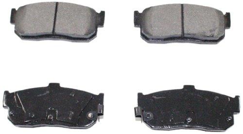 DuraGo BP540C Rear Ceramic Brake Pad Set ()