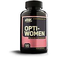 Optimum Nutrition Opti-Women, Womens Daily Multivitamin Supplement with Iron, 120 Capsules