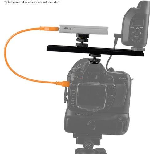 Tether Tools CamRanger Camera Mounting Kit with USB 2.0 Cable, Includes Extension Bar, Mighty Mount, Hot Shoe Adapter