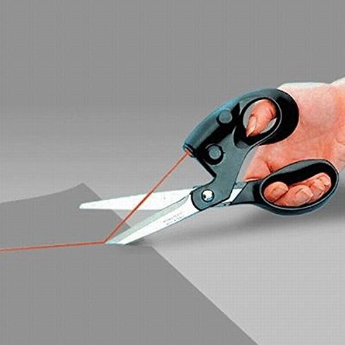 Useful Sewing Laser Scissors Cuts Straight Fast Laser Guided Scissors Laser Scissors Light Scissors Laser Household Items