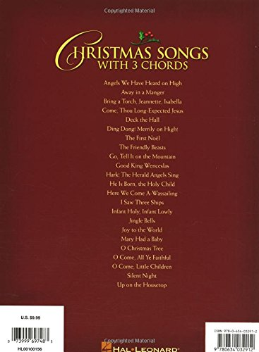 Christmas Songs With 3 Chords E Z Play Today Volume 219 E Z Play