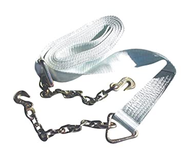 Erickson 59805 White 2-Inch x 25-Inch 12,000 pounds Breaking Strength  Recovery Strap
