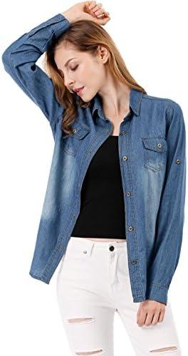 ff3c8dbc19b Best Dark Denim Shirts For Women to Buy in 2018 on Flipboard by ...