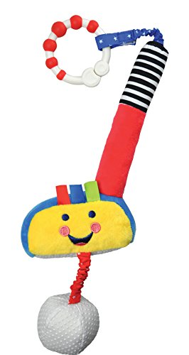 Kids Preferred Little Sport Star On The Go Plush Developmental Golf Club, 19.25 ()