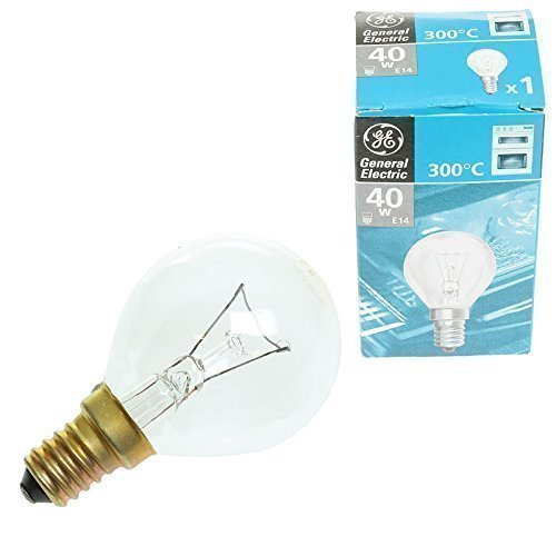 Larga duración Universal cocina horno luz bombilla lámpara E14 de ...