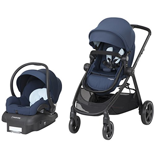 Maxi-Cosi Zelia 5-In-1 Modular Travel System, Aventurine Blue, One Size