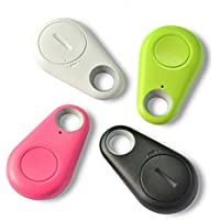 KGN Bluetooth 4.0 Anti-Theft Alarm Device Tracker/GPS Locator/Remote Shutter and Recording (Multicolour)