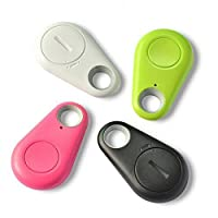 KGN Bluetooth 4.0 Anti-Theft Alarm Device Tracker/GPS Locator/Remote Shutter and Recording (Multicolour)