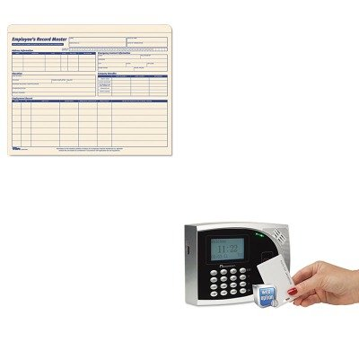 Employee Record Jackets Tops File (KITACP010249000TOP3280 - Value Kit - Acroprint timeQplus Proximity Time and Attendance System (ACP010249000) and Tops Employee Record Master File Jacket (TOP3280))