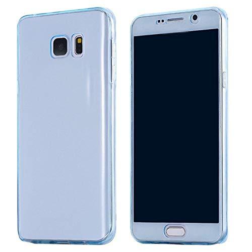 Luxury Soft 360 Full Cover Silicone Case for Samsung Galaxy J3 J5 J7 A5 A3 A7 J4 J6 A8 A6 2018 S8 S9 Plus S7 S6 Edge,Blue,J6 2018 Alabama Crimson Tide Cd Case