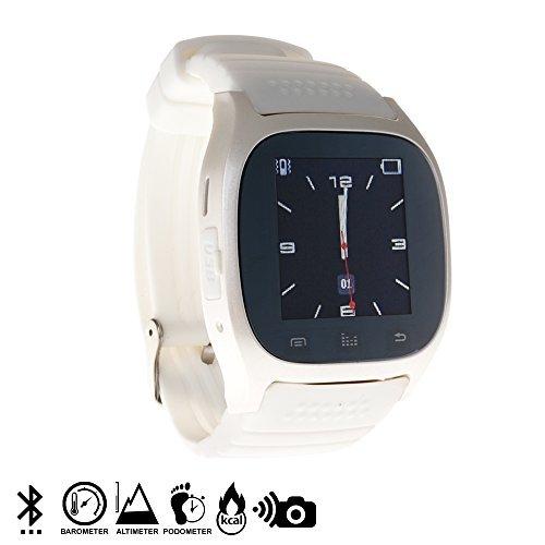 DAM - Smartwatch Timesaphire Bt White. Agenda de contactos, marcador, mensajes SMS, registro de llamadas, aviso de notificaciones, reproductor de ...