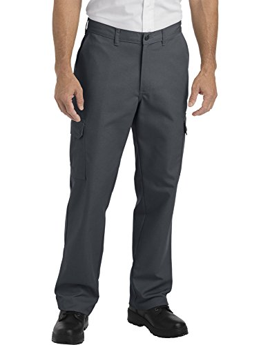 - Dickies Occupational Workwear LP600DC3830 LP600 Industrial Relaxed Fit Straight Leg Cargo Pant, Fabric, 38