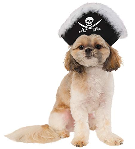 Pet Pirate Hat, Small/Medium -
