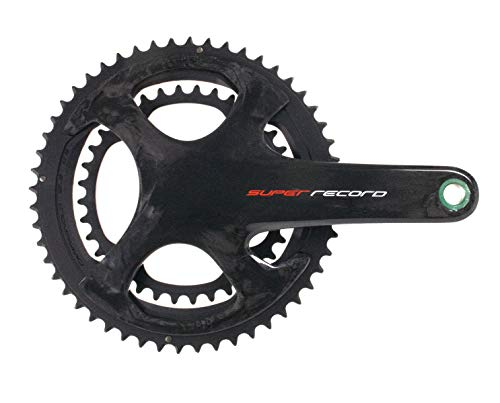 - Campagnolo Super Record Crank, 175mm, 12-Speed, 52/36t, Carbon