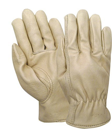 Red Steer 5670-XL Heatsaver Thermal Lined Grain Pigskin Leather Driver Glove [Price Is Per Pair] (Extra Large) - Lined Pigskin Driver