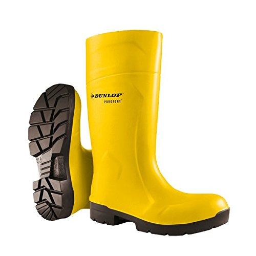 Knee Boots, Yellow/Black, 11, Unisex, PR